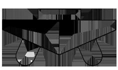 逆富士型-線画