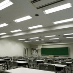 明治東洋医学院専門学校様 導入製品40W形LED