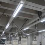 大手製粉工場 導入製品LEDベースライト(トラフ型)